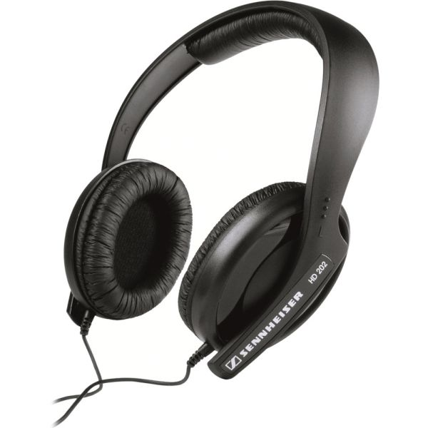 Sennheiser HD 202-II Closed-Back Over-Ear Stereo 504291 B&H