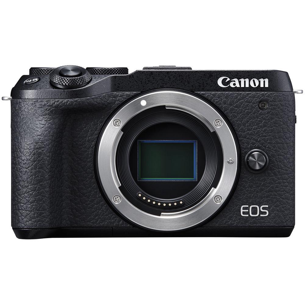 Canon EOS M6 Mark II Mirrorless Digital Camera 3611C001 B&H