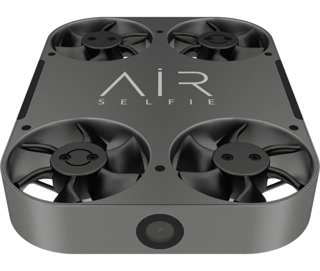 Airselfie Airselfie2 Portable Camera Drone With Leather Bag Black