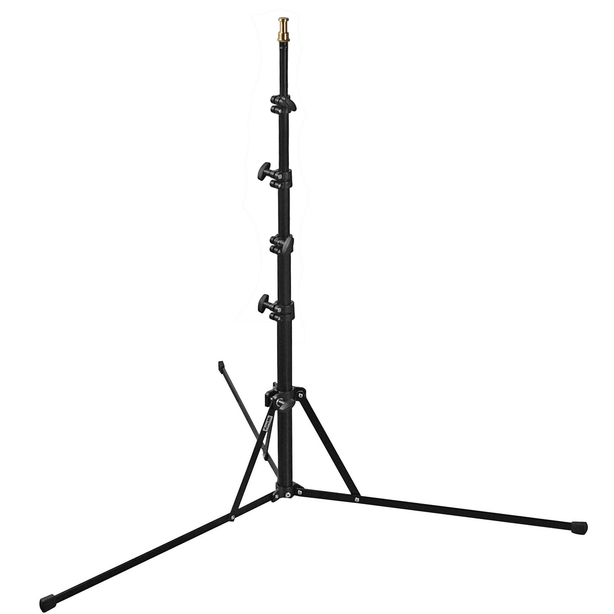 Dynalite Compact Lightweight Light Stand Black 6 5