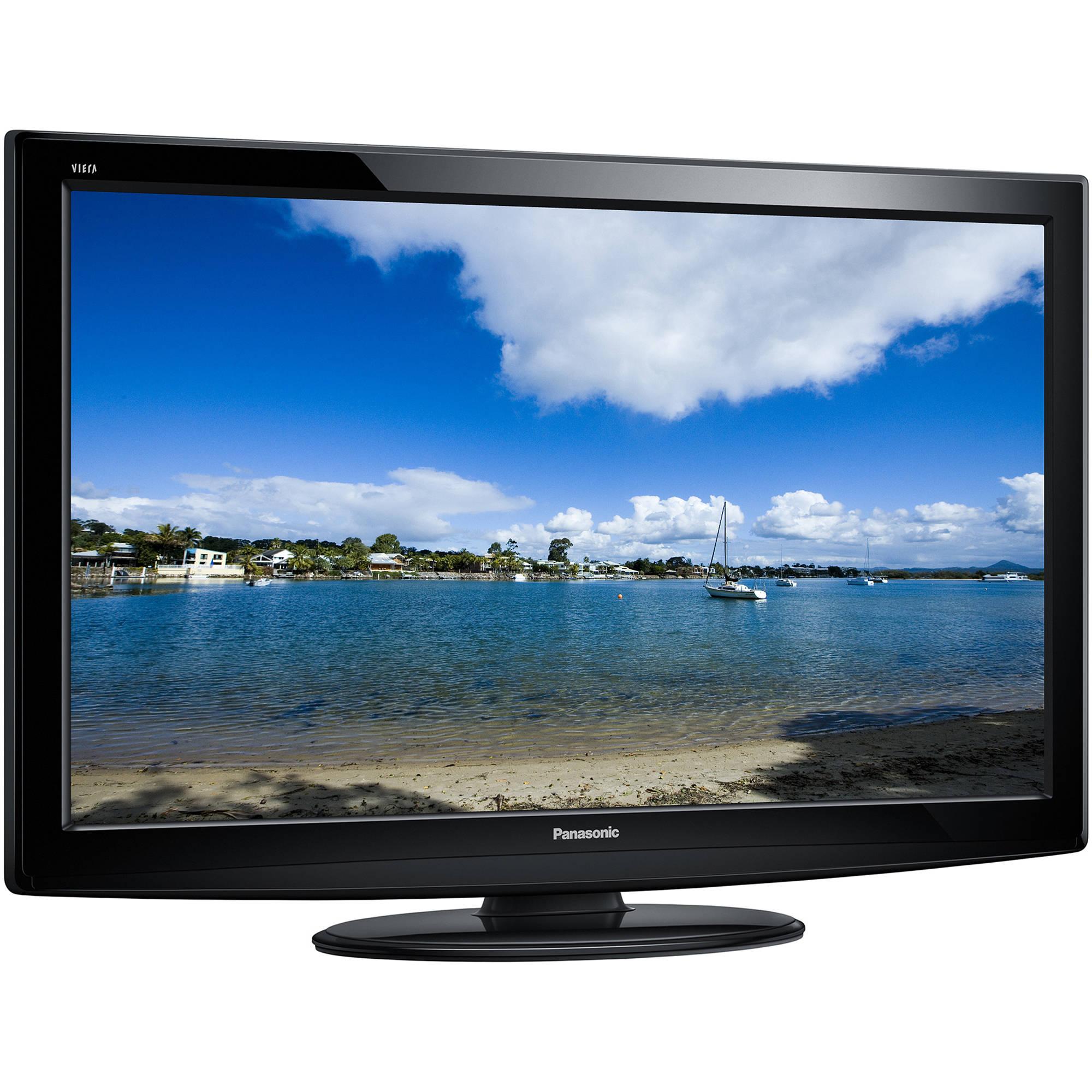 Panasonic Tc L37u22 37 Viera P Lcd Tv Tc L37u22 B Amp H