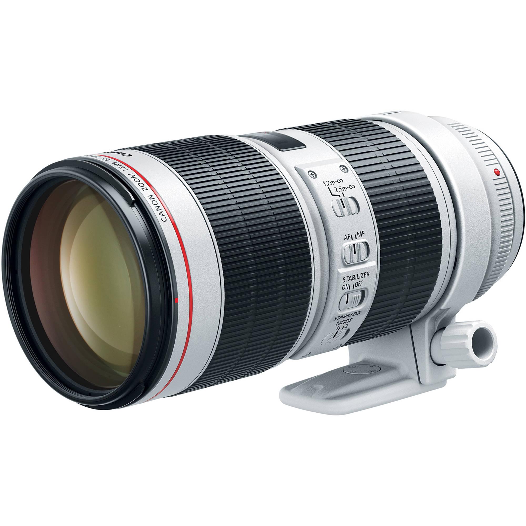 Canon Ef 70-200Mm F/2.8L Is Iii Usm Lens 3044C002 B&Amp;H Photo Video