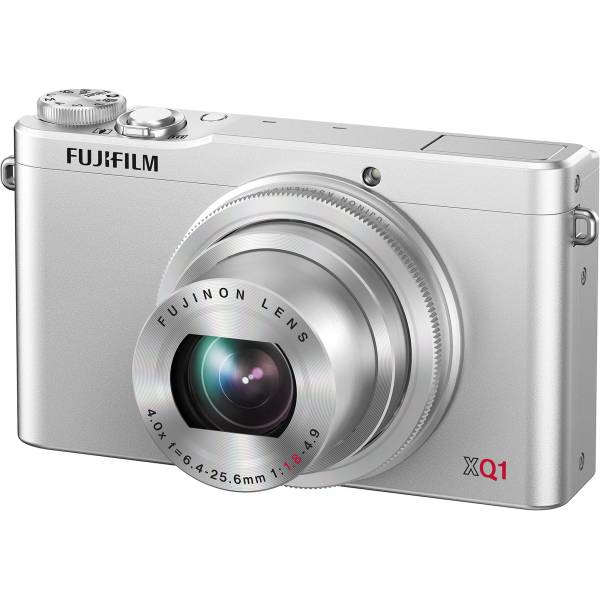Fujifilm XQ1 Digital Camera (Silver) 16410594 B&H Photo Video