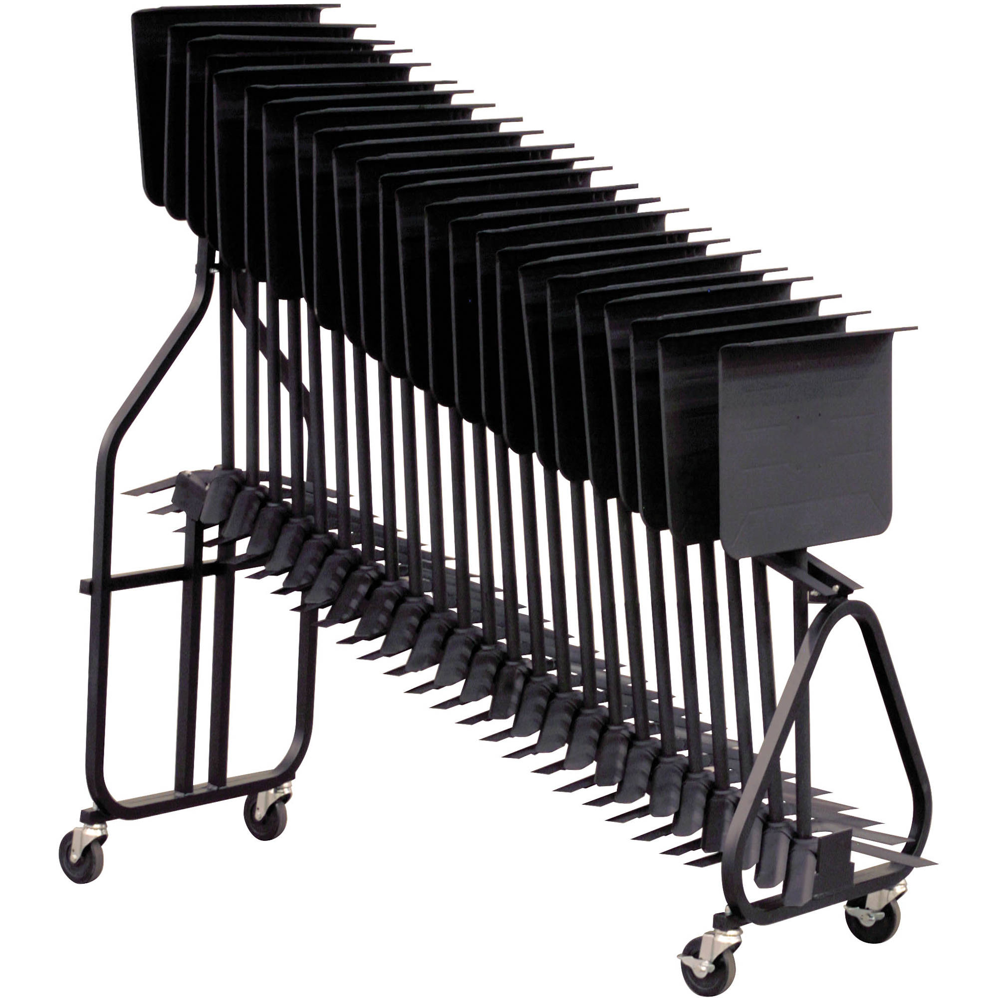 hamilton stands kb100 symphonic music stand storage cart
