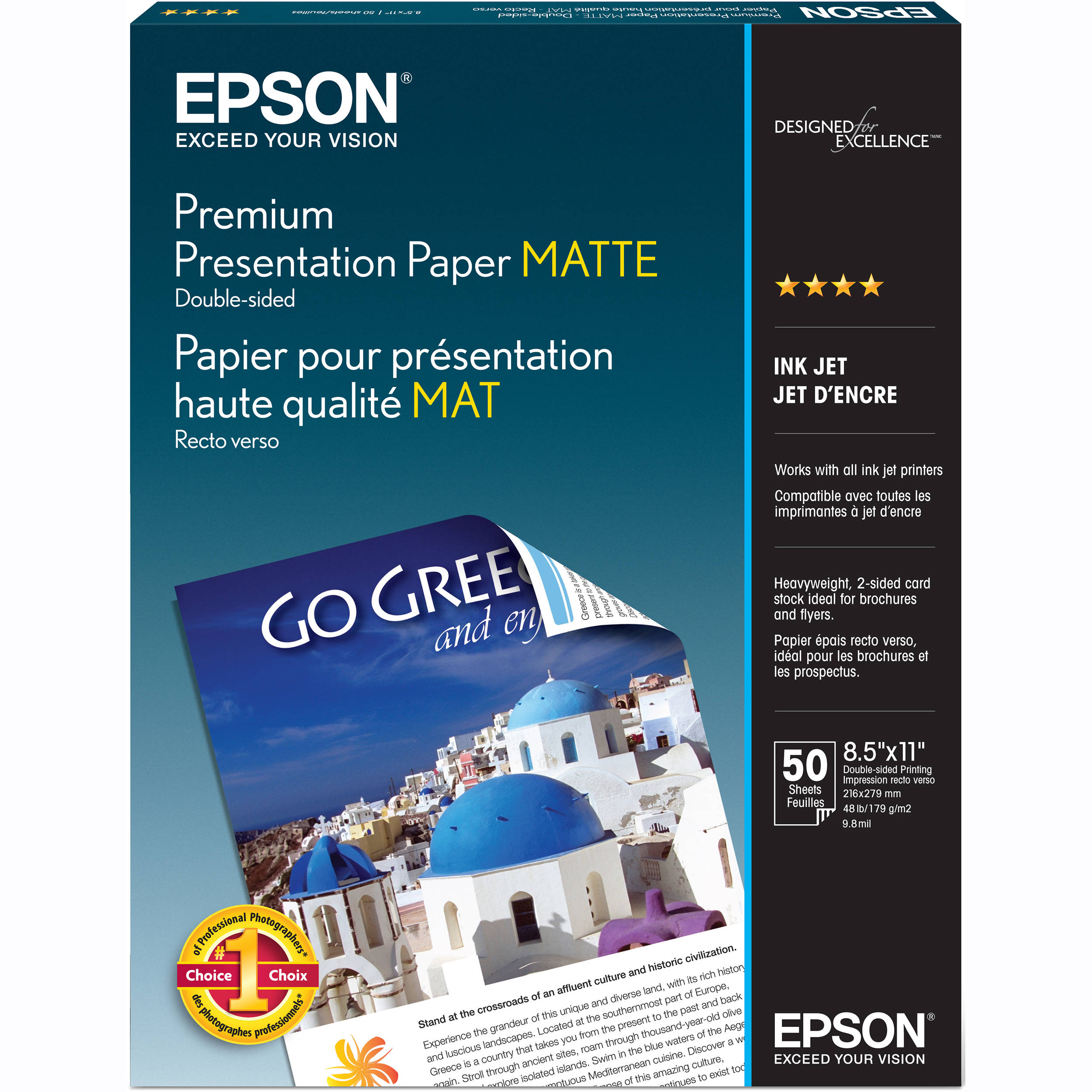 Epson Premium Presentation Paper Matte Double Sided