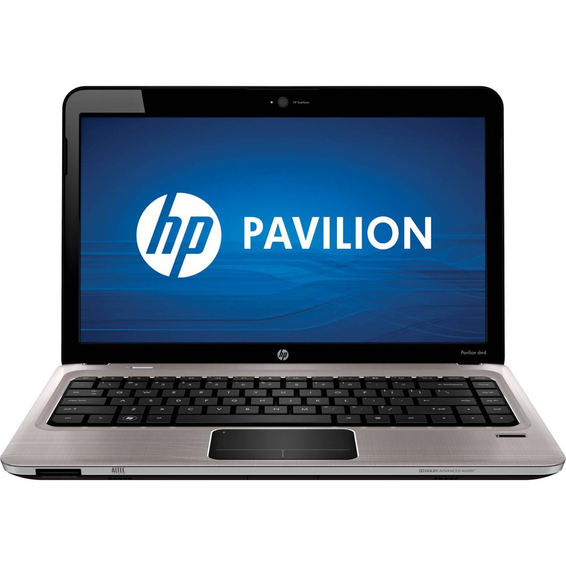 Hp Pavilion Dm Notebook Computer Steel Gray Brushed Aluminum