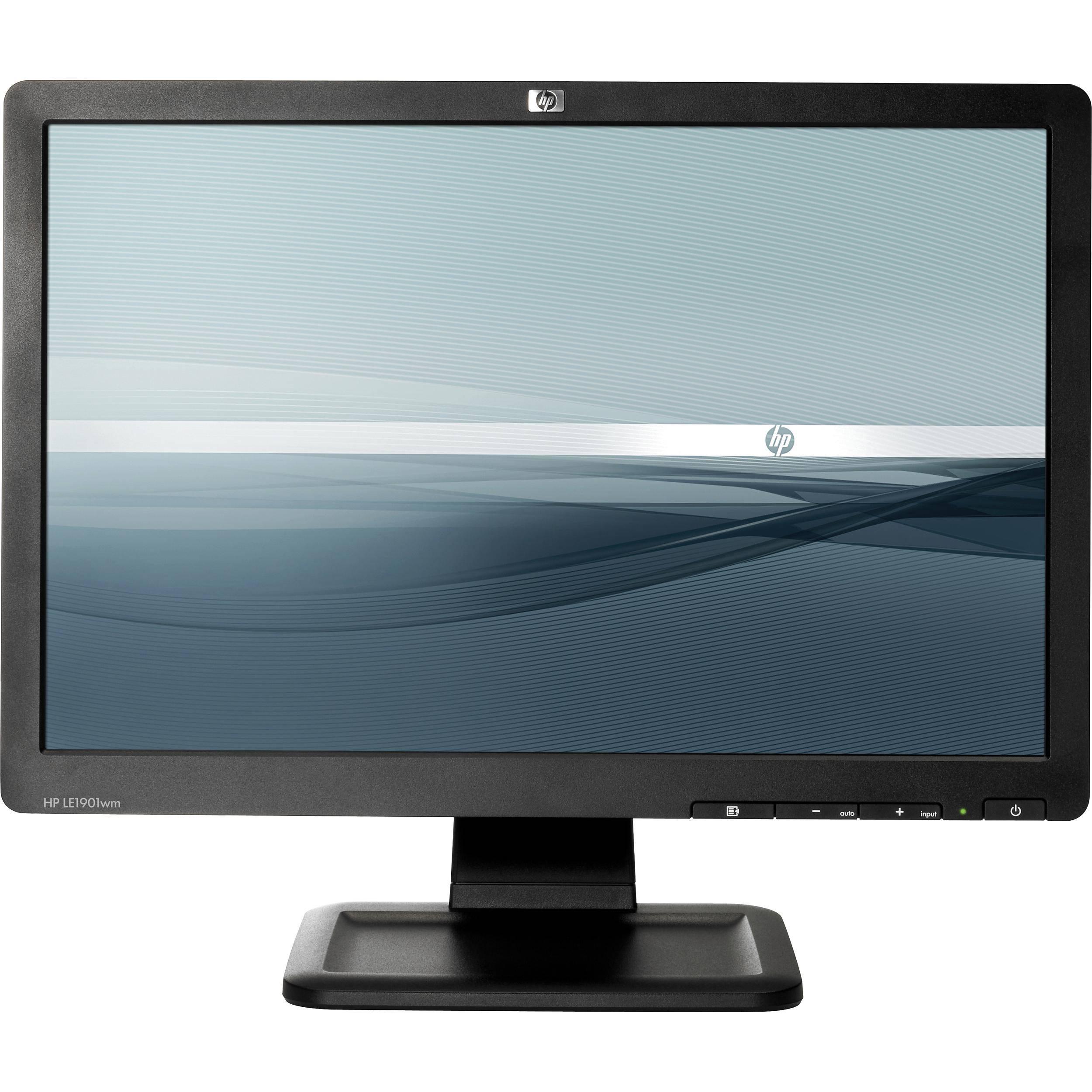 Hp Computer Monitors Built Speakers