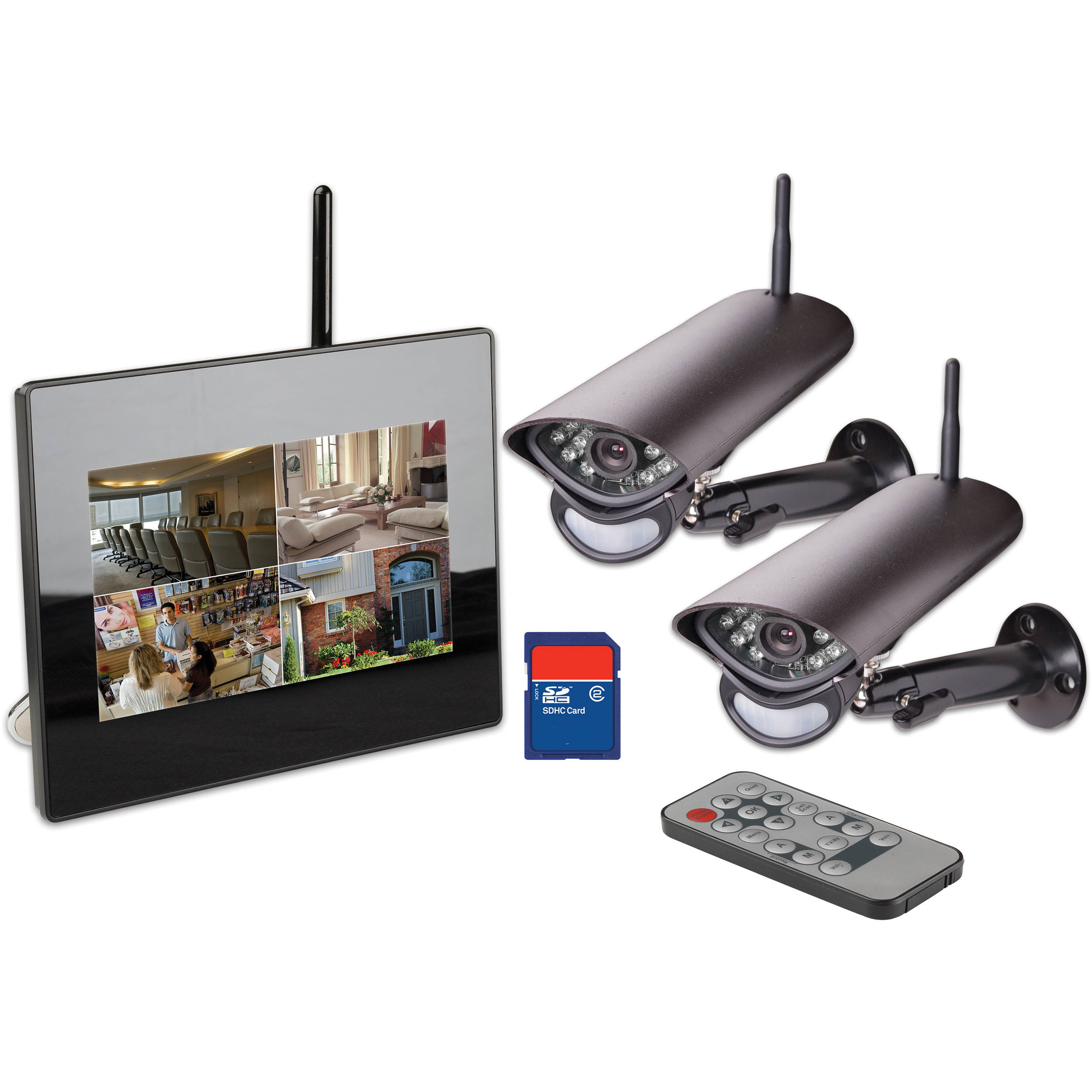 Wireless Security Camera System Q See