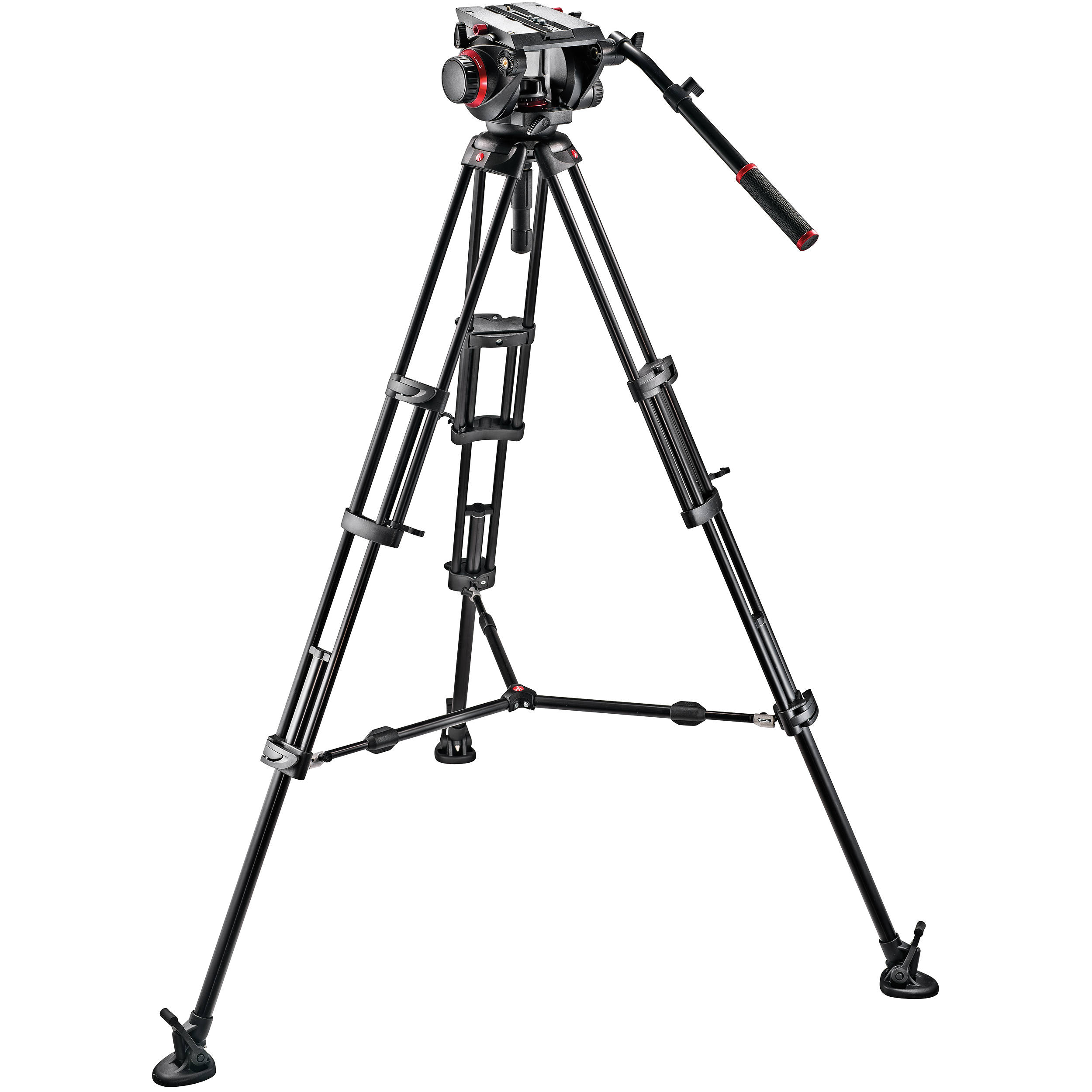 Manfrotto 509hd Video Head Amp 545b Aluminum 509hd 545bk B Amp H
