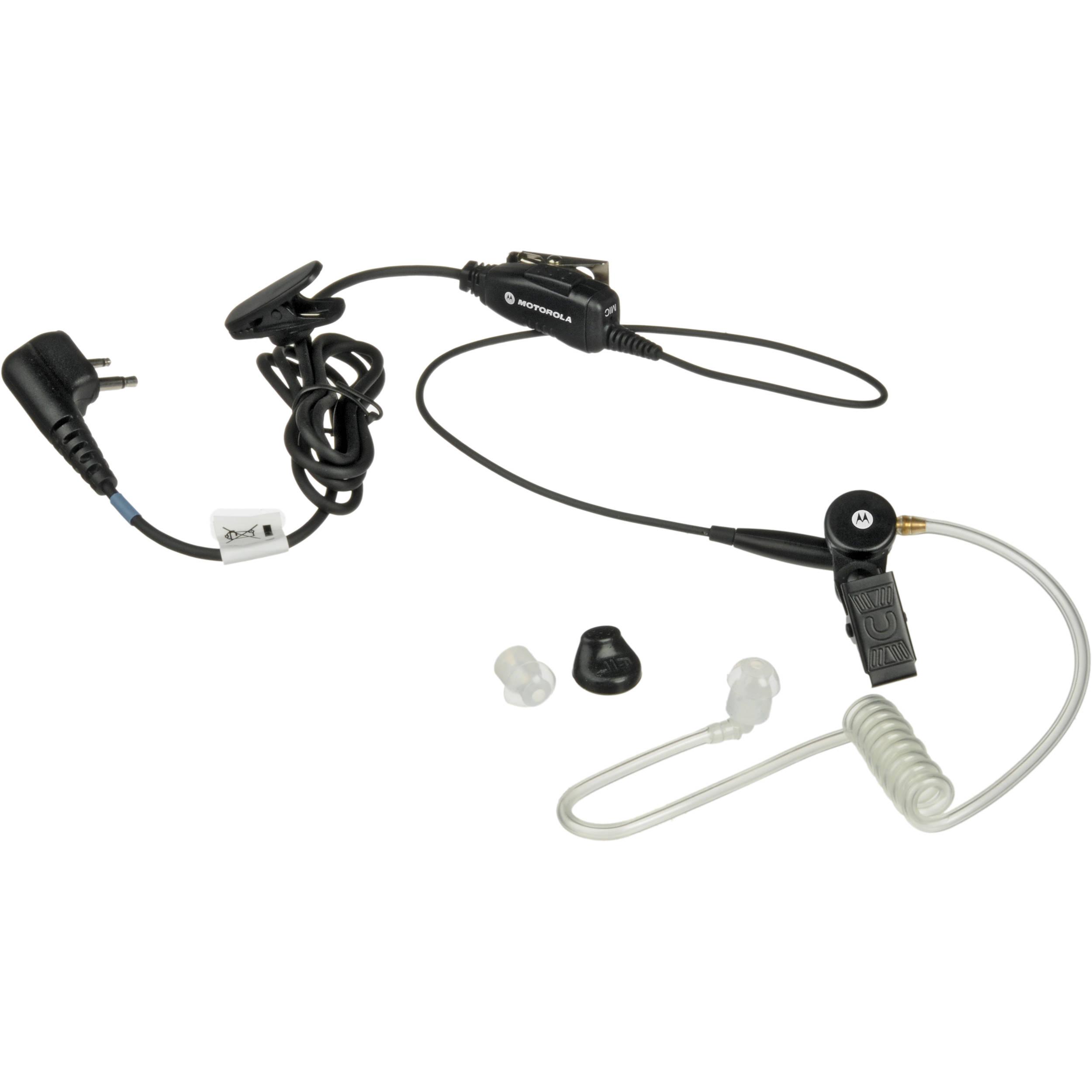 Motorola Hkln A 2 Pin Single Wire Surveillance