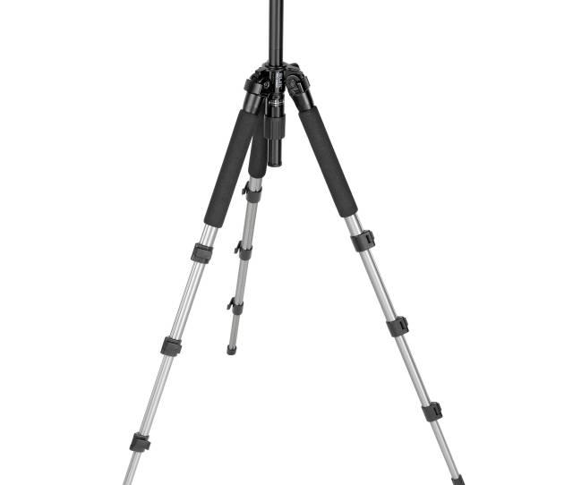 Slik Pro 340dx Tripod Legs Silver