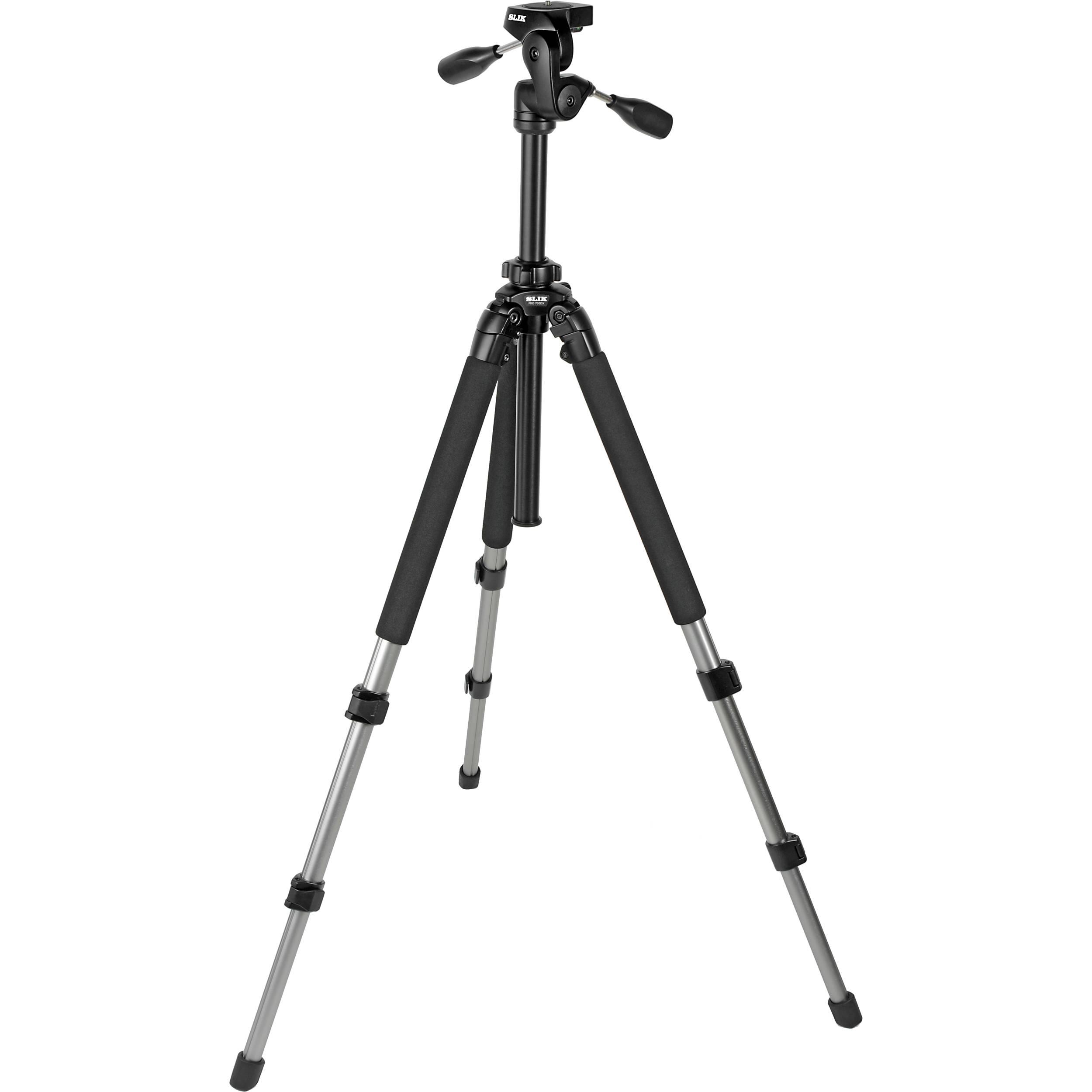 Slik Pro 700 Dx Tripod With 700dx 3 Way Pan And Tilt 615 315