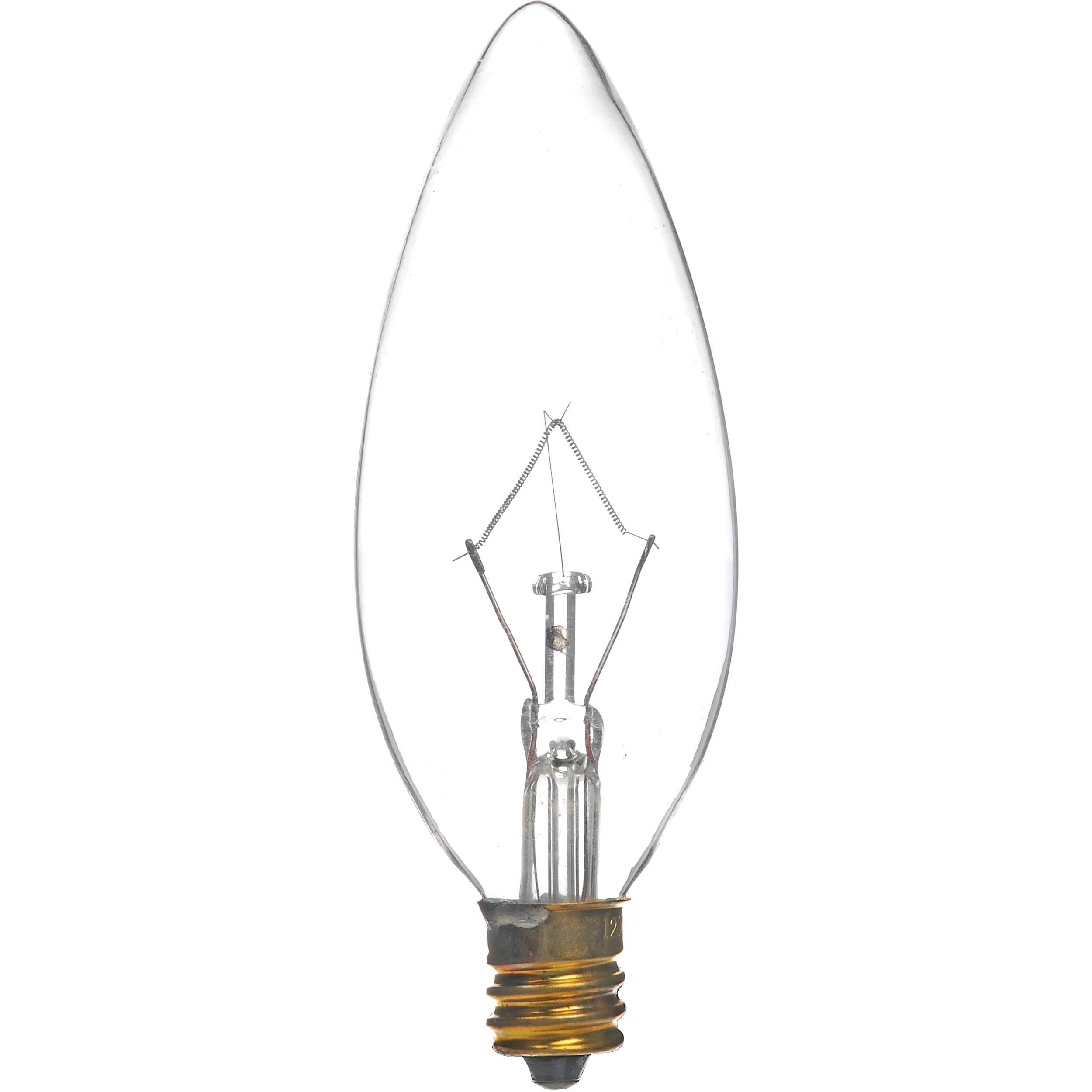 Sunlite 60w 120v Candelabra Lamp B Amp H Photo Video