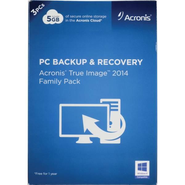 Acronis True Image 2014 Family Pack TIFP-17-MB-RT-W-EN B&H ...