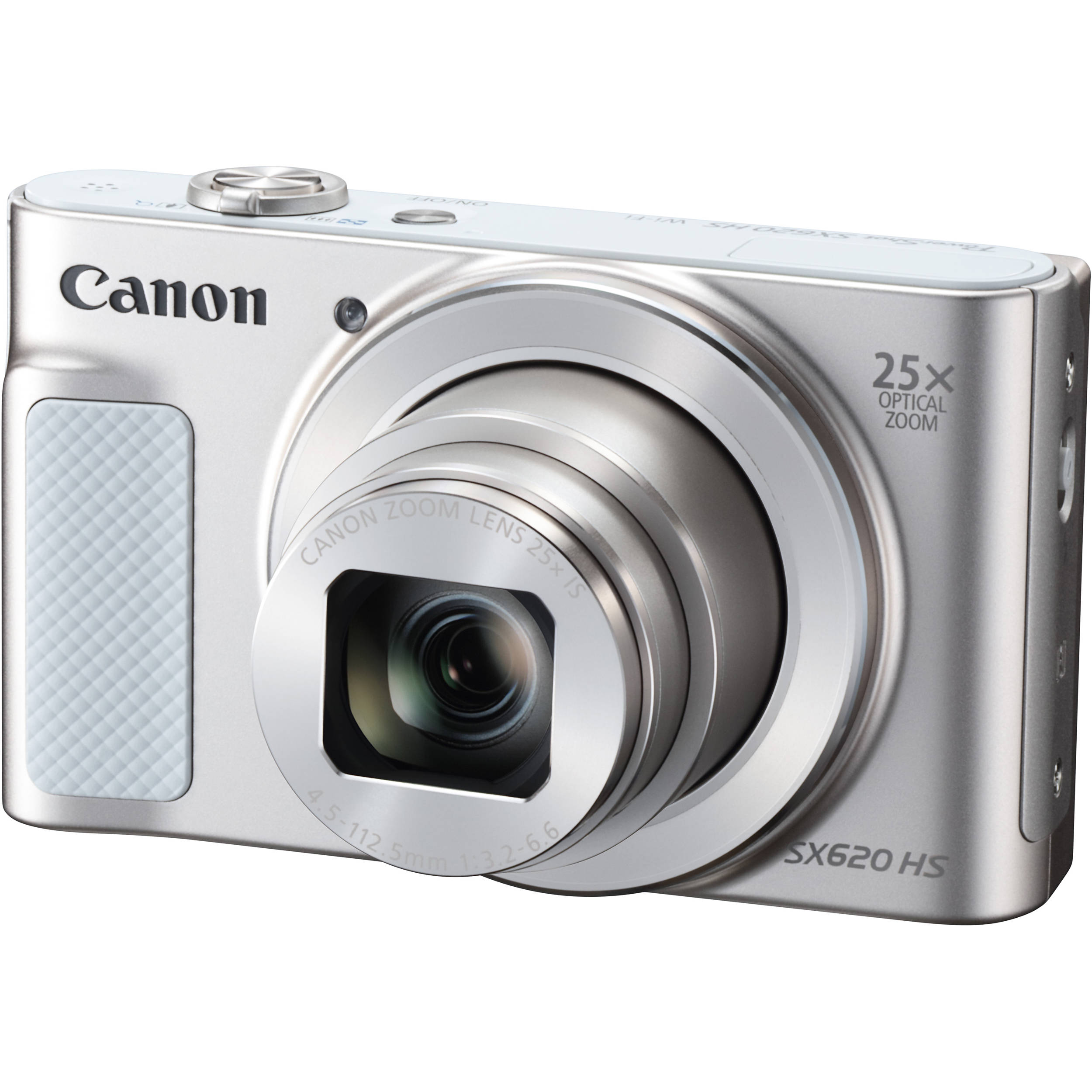 Canon PowerShot SX620 HS Digital Camera (Silver) 1074C001 B&H