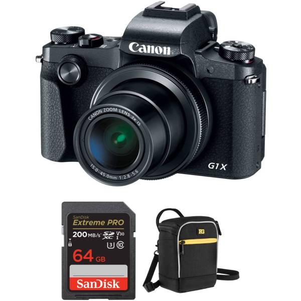 Canon PowerShot G1 X Mark III Digital Camera with Accessories