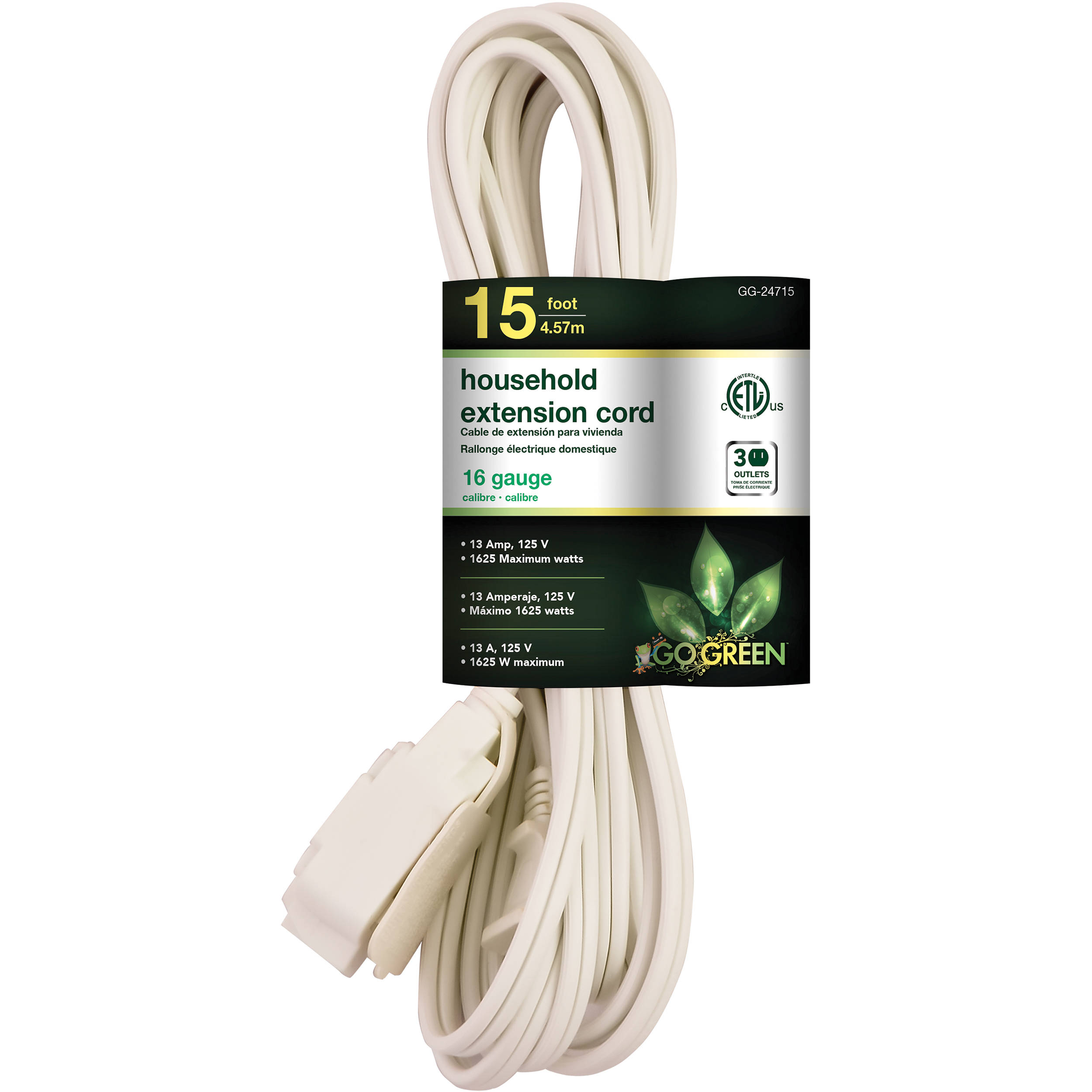 16 Gauge Extension Cord