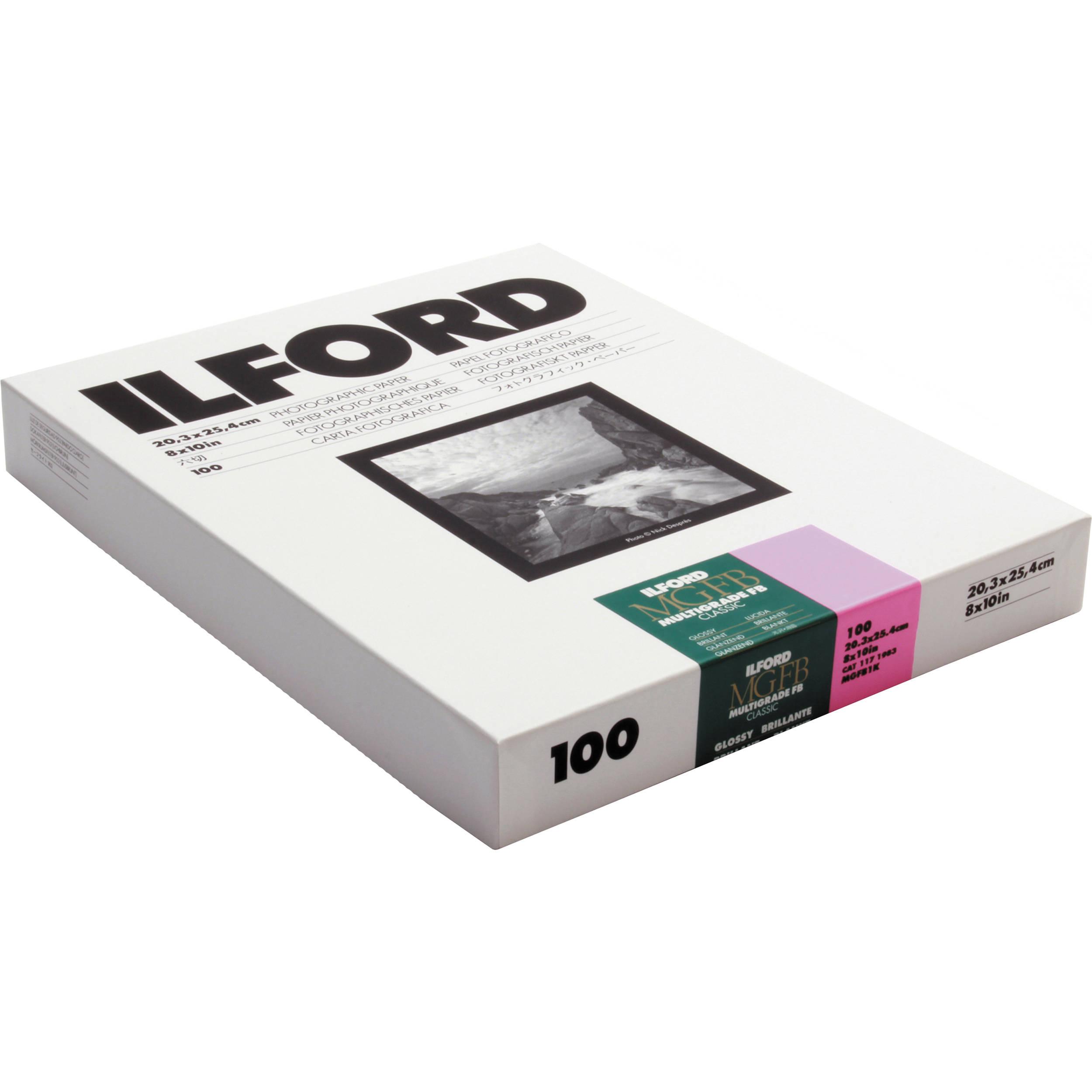 Ilford Multigrade Fb Classic Paper B Amp H Photo Video