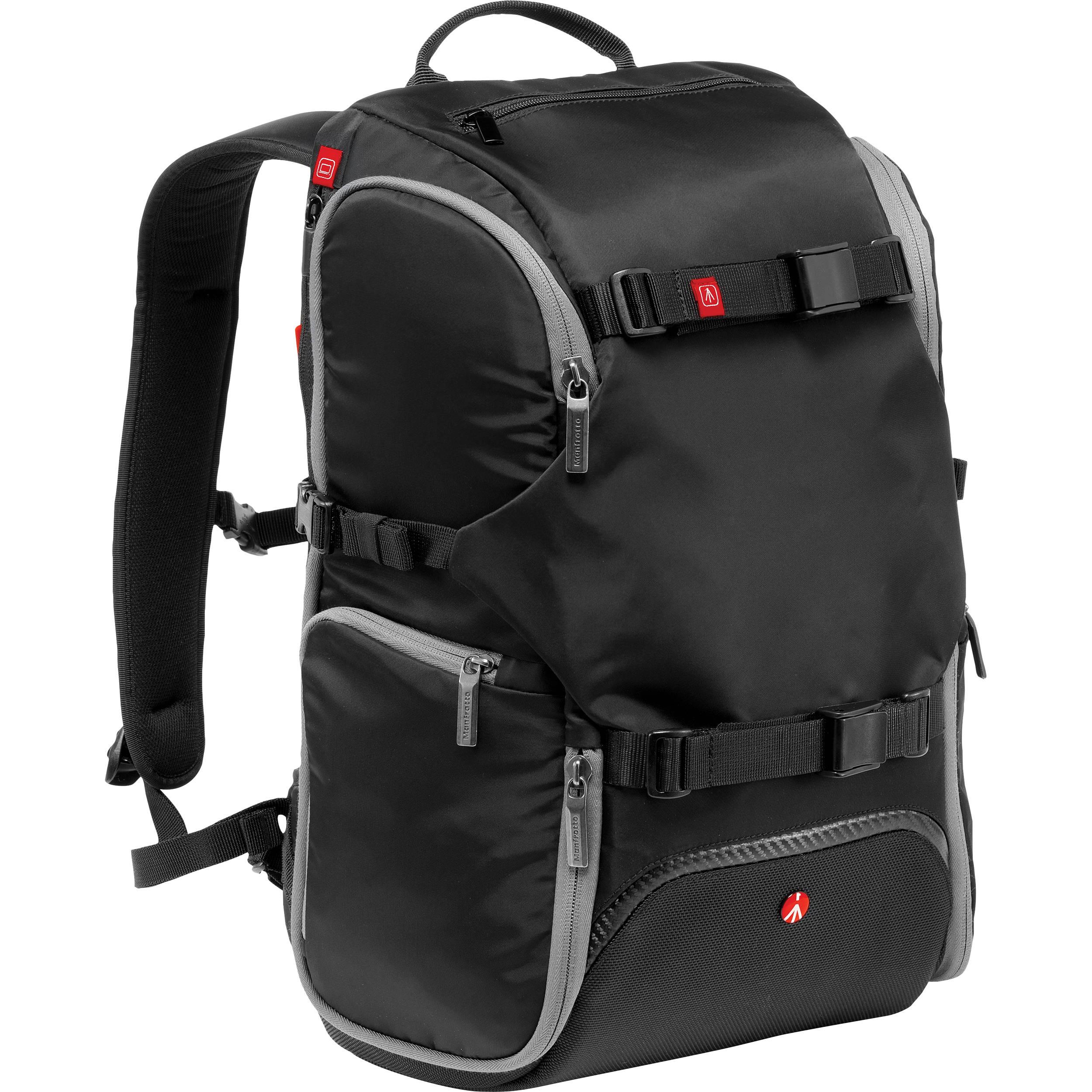 Manfrotto Advanced Travel Backpack (Black) MB MA-BP-TRV B&H