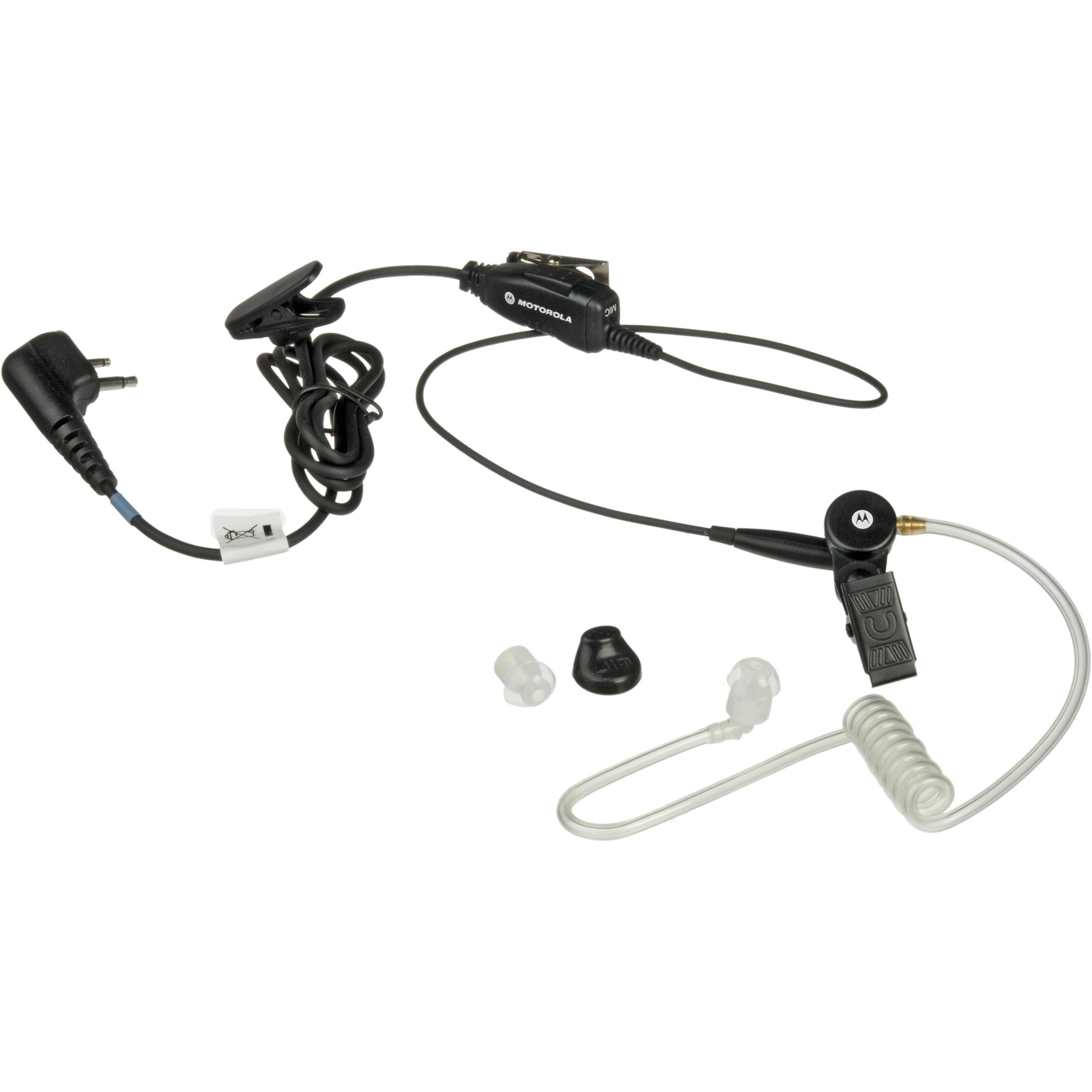 Motorola Hkln Single Wire Surveillance Earpiece