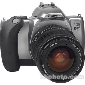 Canon EOS Rebel K2 35mm SLR Kit with 2890mm EF III Lens