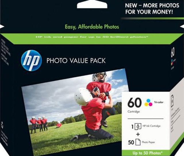 Hp 60 Series Photo Value Pack