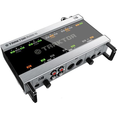 Native Instruments TRAKTOR SCRATCH A10- AUDIO 10 DJ Audio ...