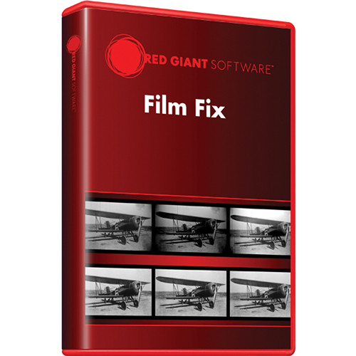 Red Giant Film Fix v1.0 Software Plug-in for After FILMF-D B&H