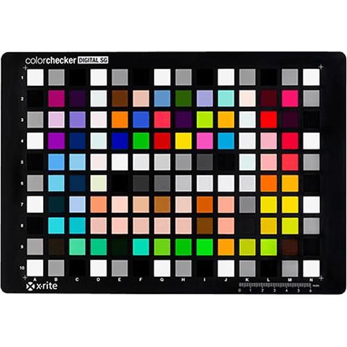 X-Rite Digital ColorChecker SG Card MSDCCSG B&H Photo Video
