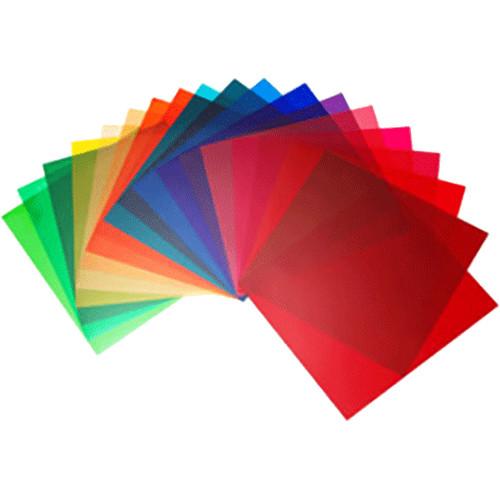 Elinchrom Color Filter Set of 20 (21 x 21cm) EL26256 B&H Photo