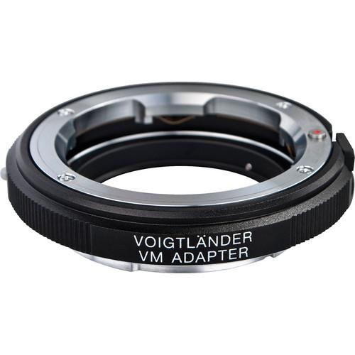 Voigtlander Adapter for Sony E Mount Cameras--VM Mount Lens (Black)