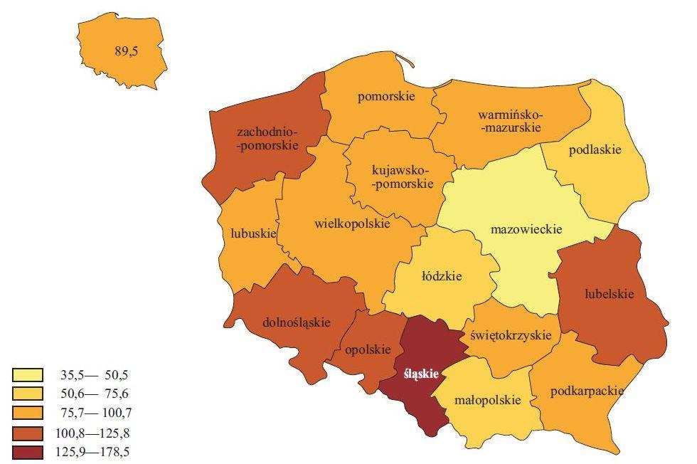 hałas w Polsce