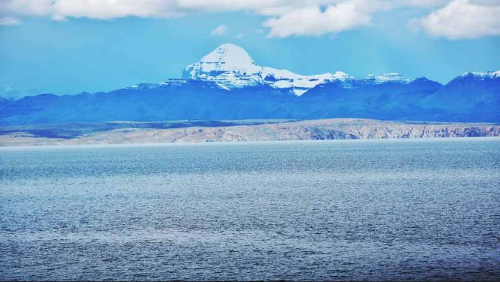 Mount Kailas from Qugu