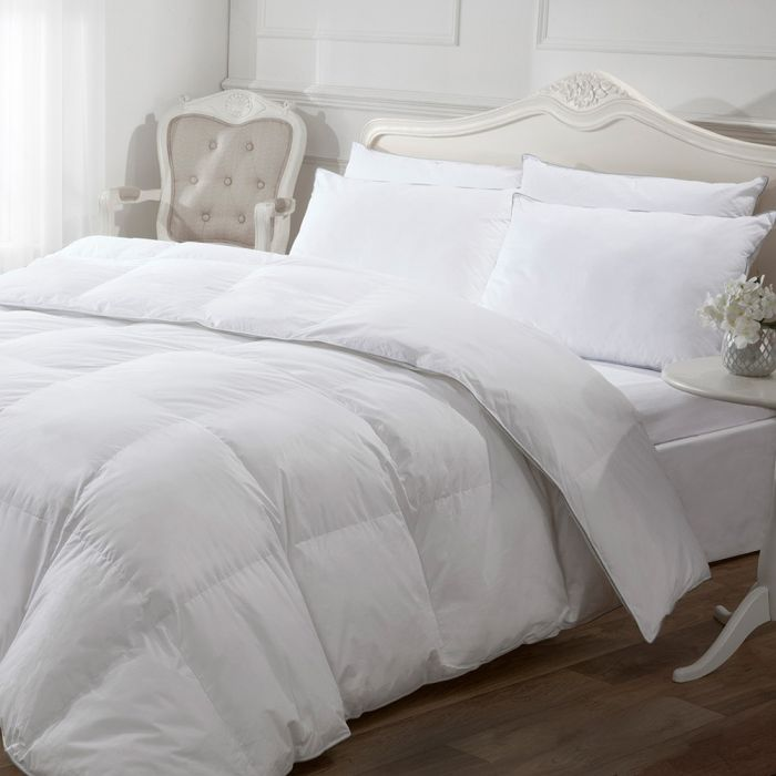 hotel collection 5 star luxury white goose down pillow