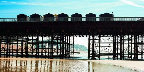 Photograph of Hastings Pier