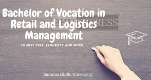 B.Voc in Retail and Logistics Management