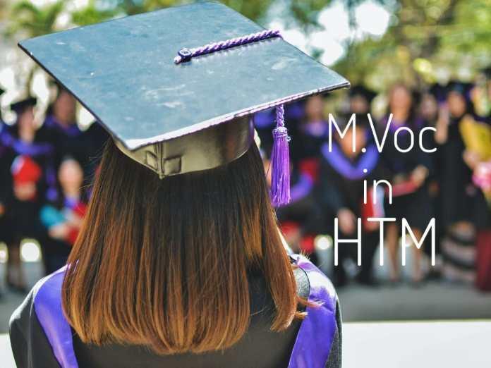 M.Voc in HTM
