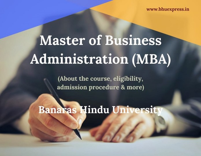 Master of Administration (MBA)