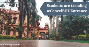 Students are trending #CancelBHUEntrance