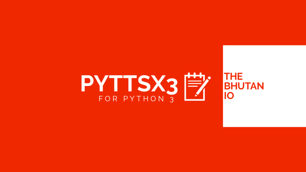 How to Install pyttsx 3 for Python 3