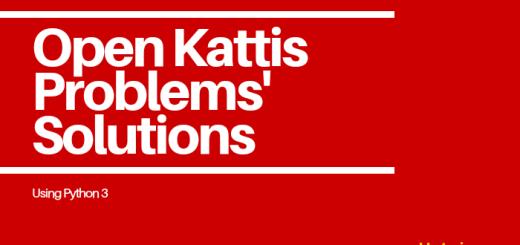 Open Kattis Problems' Solutions