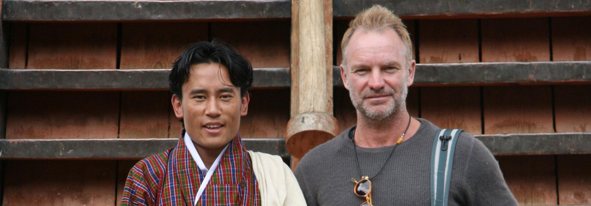 Sting trong chuyến nghỉ dưỡng tại Bhutan cùng gia đình và bạn bè