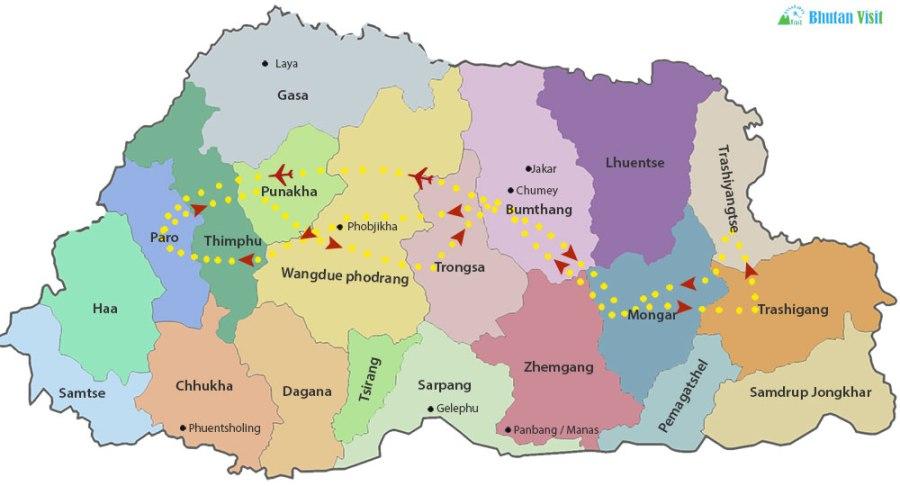An Inspirational Journey across Bhutan