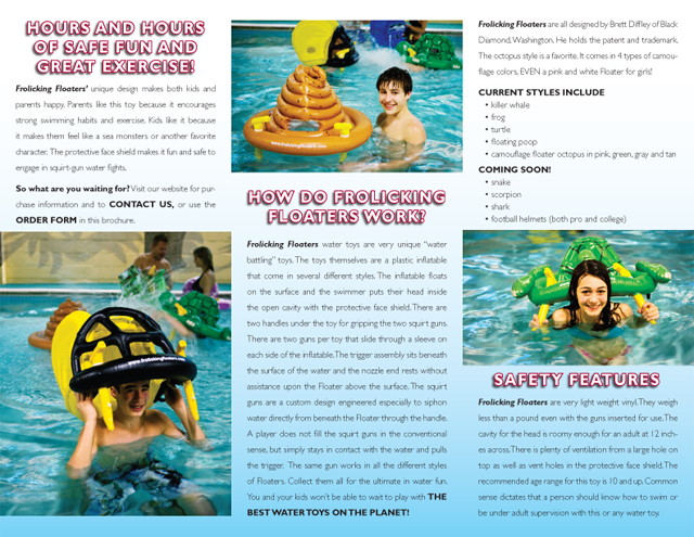 Frolicking Floaters brochure (interior)
