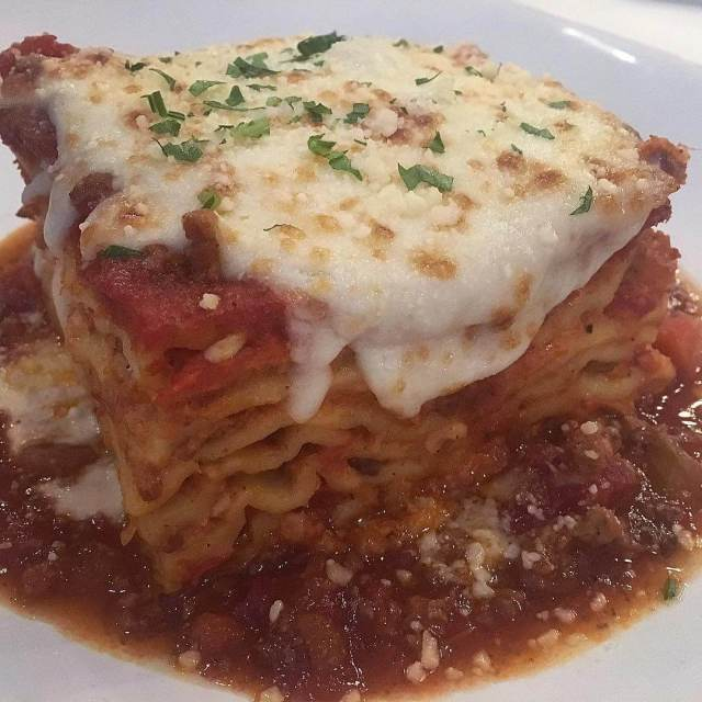Who could go for a piece of Biaggis lasagna righthellip
