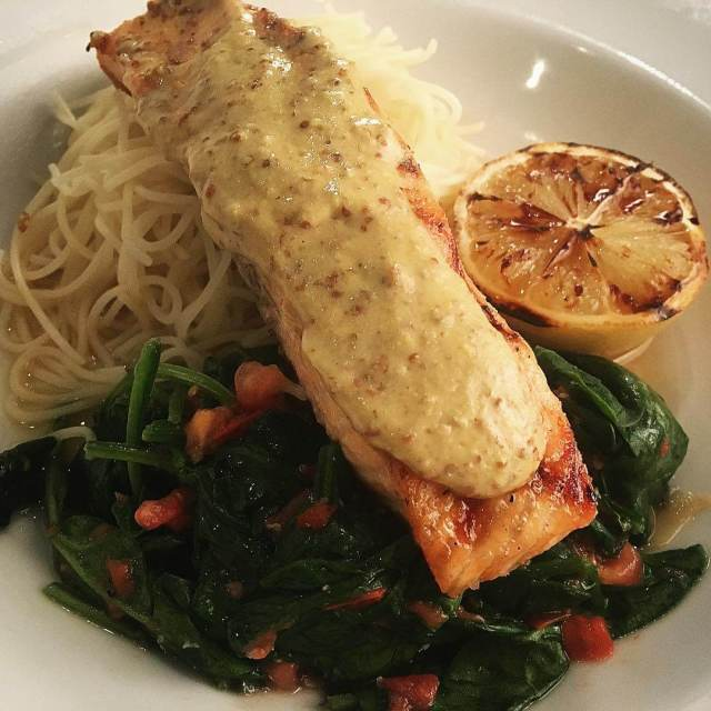 Take a taste of our lighter side! Our Dijon Salmonhellip