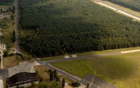 lotnisko Biała Podlaska planowana wycinka drzew