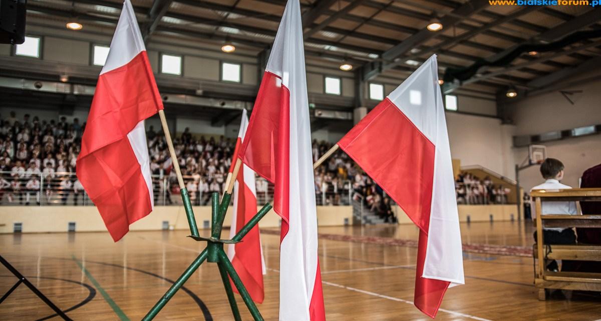 Konstytucja 3 Maja w Szkole Podstawowej nr 3 w Białej Podlaskiej