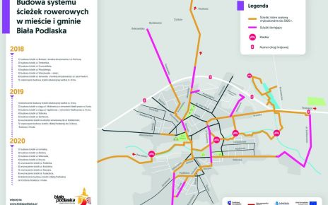 Plany rozwoju systemu ścieżek rowerowych