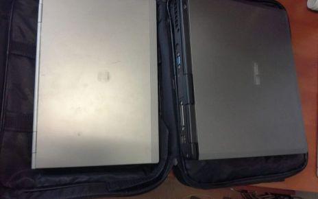 Próbował ukraść laptopy, uciekając zgubił amfetaminę